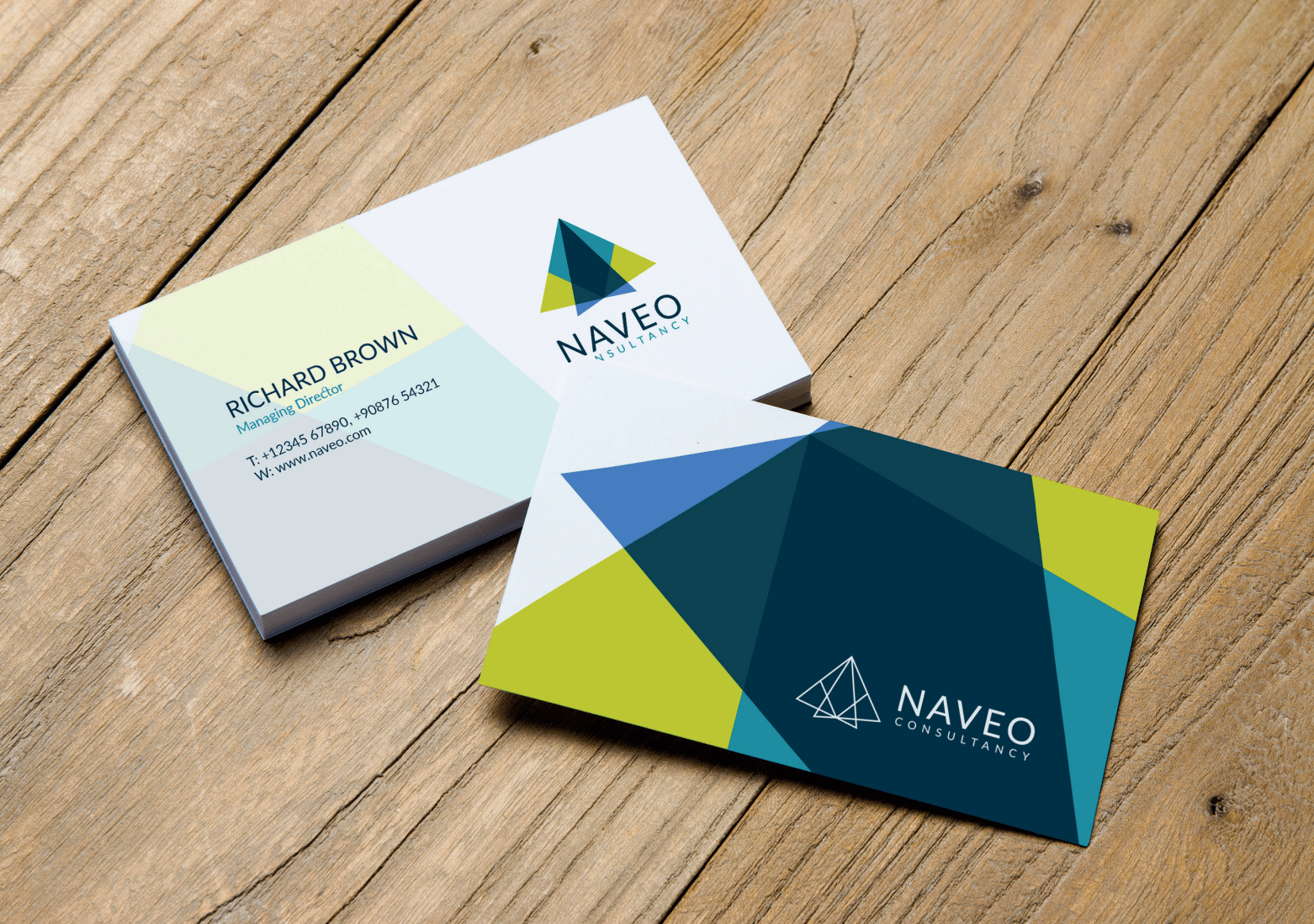 Naveo Business Cards
