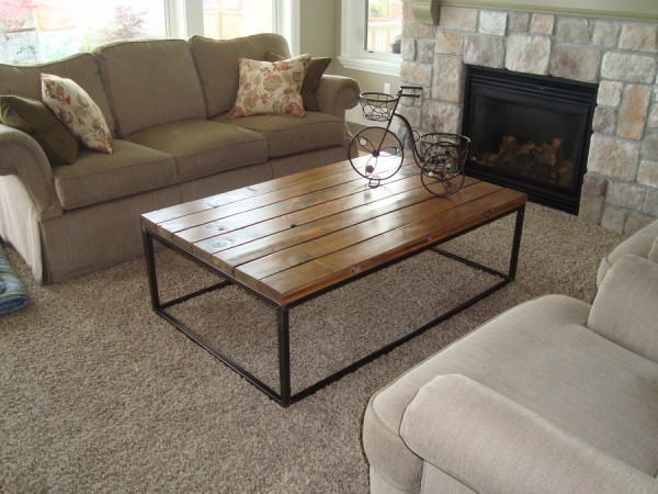 reclaimed wood coffee tables recycled