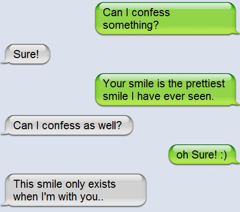 Cute Smile Text Image 313367 On