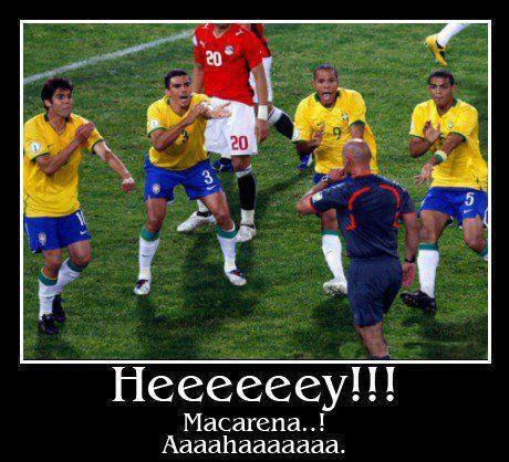 football macarena