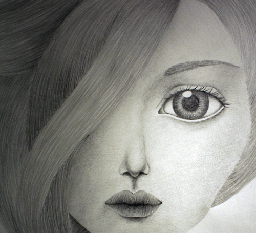 art, drawing, drawins, eye, girl