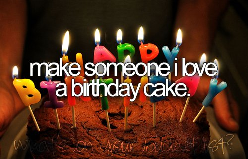 before i die, birthday, bucket list, cake, party