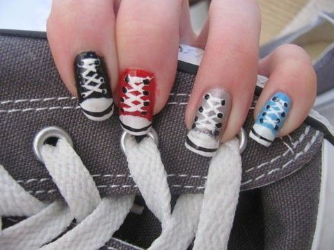 Wicked musical nail art nail art ideas wicked nail art best nails ideas prinsesfo Image collections