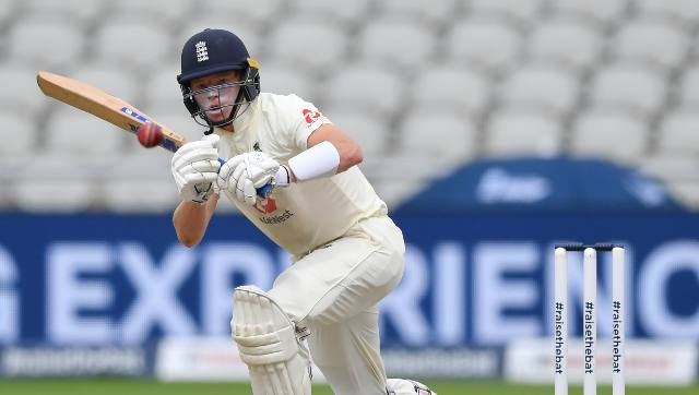 Ollie Pope's 62 was the only respite for England in the first innings as most of the batsmen collapsed even before settling in. AP