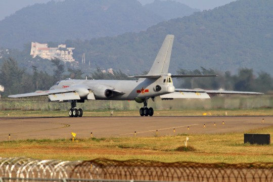H-6 bomber (AP)