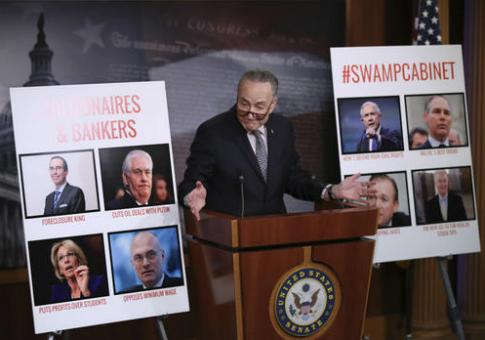 Senate Minority Leader Chuck Schumer (D., N.Y.) / AP