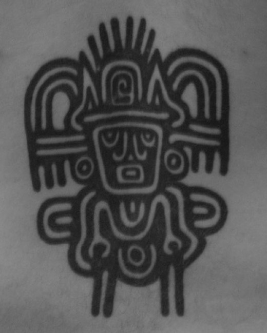 One of the most popular tribes known for their tattoos are the Aztecs.