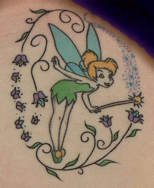 Tinkerbell Tattoos: Fairy Tattoos