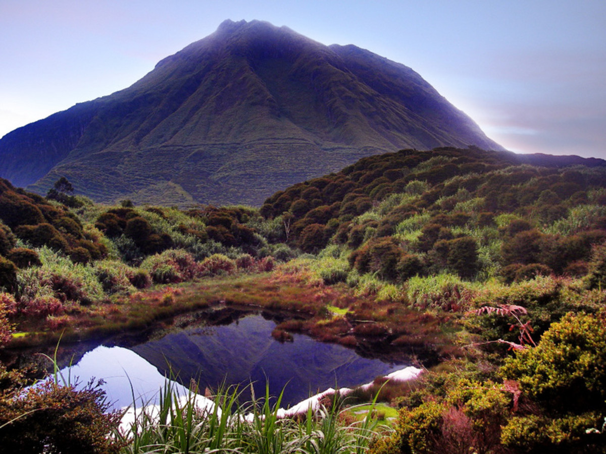 The majestic Mount Apo, with amazing natural resources hidden along its trail.