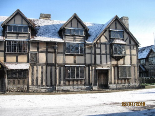 Gna's house as Mary Arden