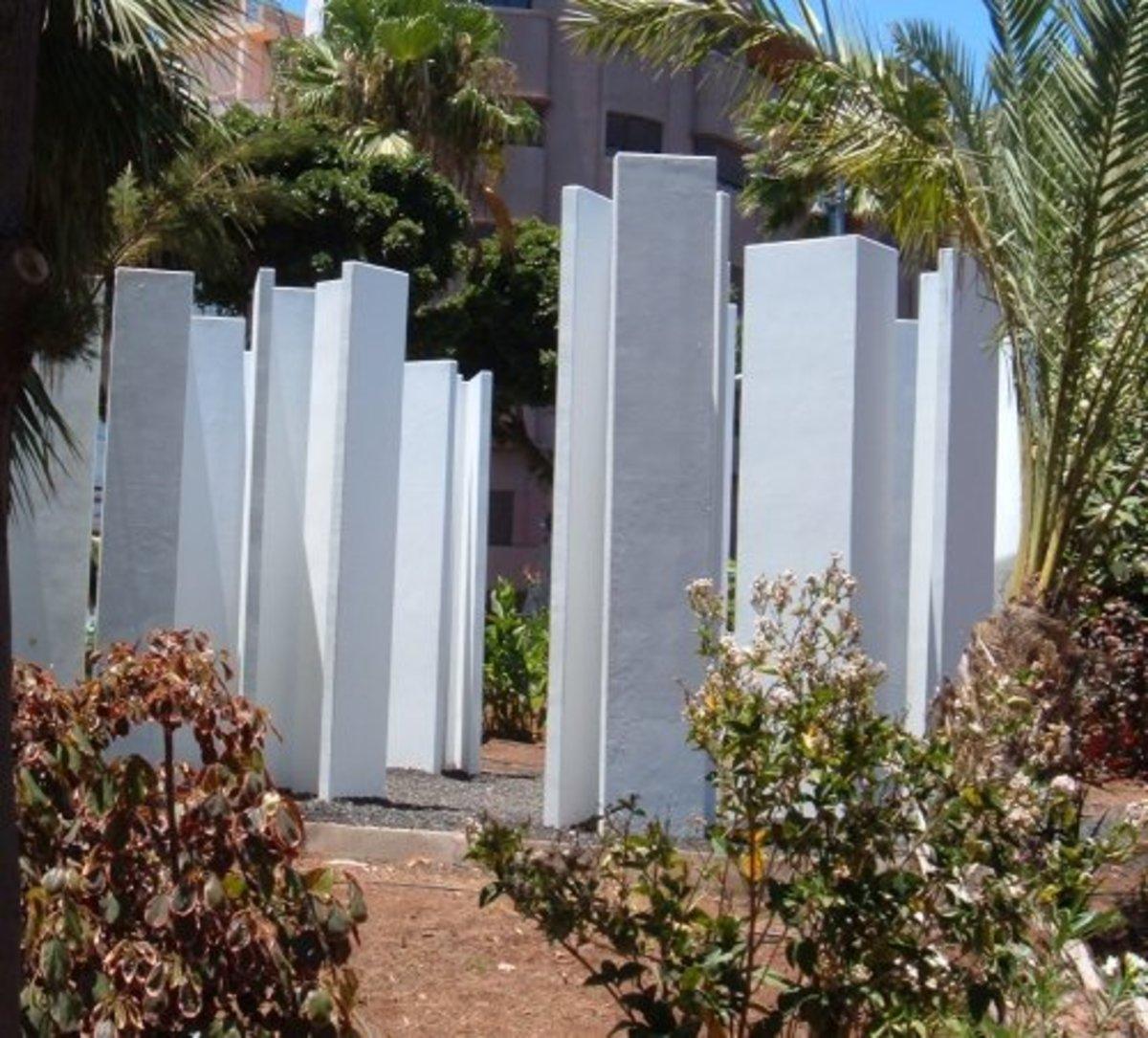 Monoliths in Parque García Sanabria