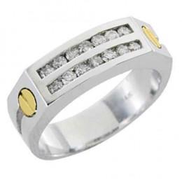 MENS CARTIER DIAMOND RING