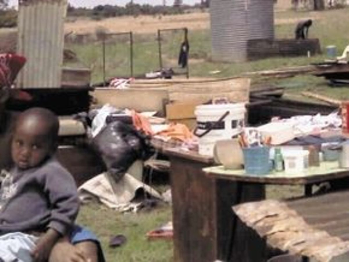 Forced Removal of Midvaal shack dwellers to make way and land for Big International Capital and Big Local Investors