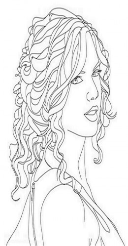 celebrity coloring pages taylor swift taylor swift coloring pages