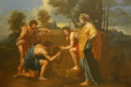 The Shepards of Arcadia by Poussin