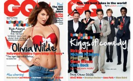 "Ceri Davis, the deputy editor of GQ Australia describes the man cleavage as ""verging on pornography"". But wait: Isn't GQ full of cleavage-bearing women in provocative poses?! Tsktsktsk, pornographic, isn't it?"