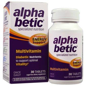 Abkit, Alpha Betic, Multivitamin, 30 Tablets - iHerb