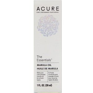Acure Organics, The Essentials، زيت المارولا، 1 أونصة (30 مل)
