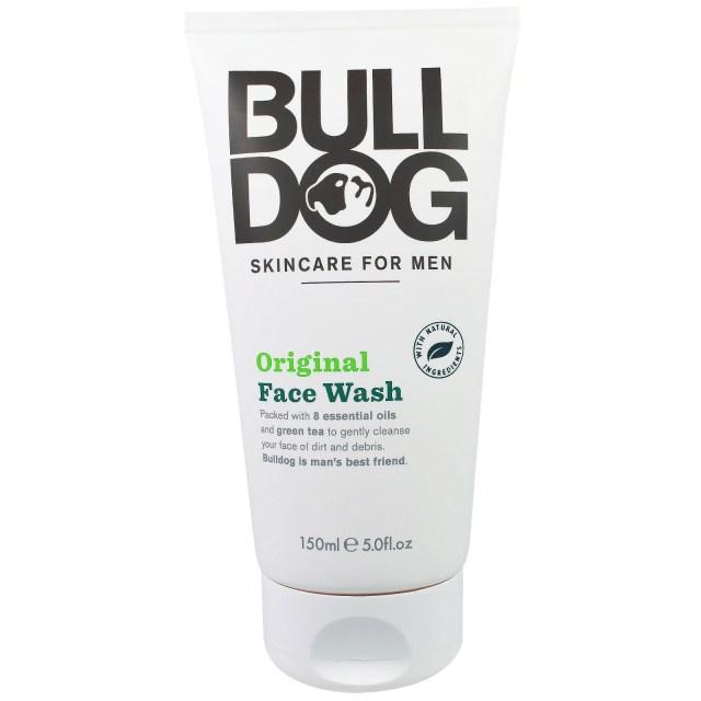 bulldog skincare for men, original face wash, 5.0 fl oz (150 ml
