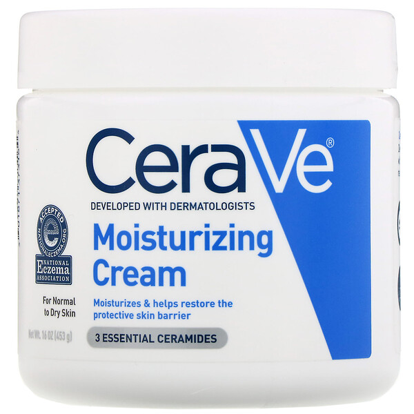 CeraVe, モイスチャライジングクリーム、453g(16oz)