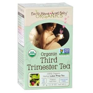 Earth Mama Angel Baby, الشاي العضوي لفترة الثلث الثالث من الحمل، خال من الكافيين، 16 كيس شاي، 1.3 أُونْصَة (37 جم)