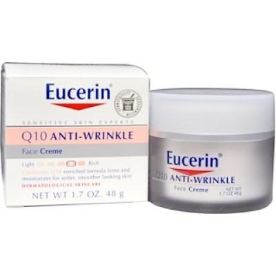 Eucerin, كريمة الوجه Q10 المضادة للتجاعيد، 1.7 أوقية (48غ)
