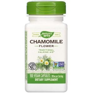 Nature's Way, Chamomile Flower, 700 mg, 100 Vegan Capsules