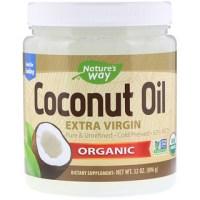 Nature's Way, Organic, Coconut Oil, Extra Virgin, 2 lbs (896 g)