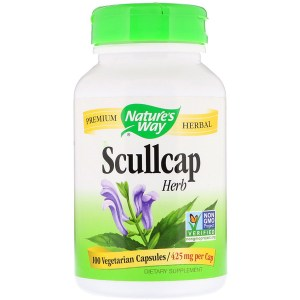 Nature's Way, スカルキャップハーブ、 425 mg、100植物カプセル