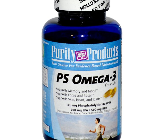 Purity Products Ps Omega  Soft Gels Discontinued Item