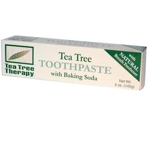 Tea Tree Therapy, معجون أسنان شجرة الشاي، مع بي كربونات الصوديوم، 5 أُونْصَات (142 جم)