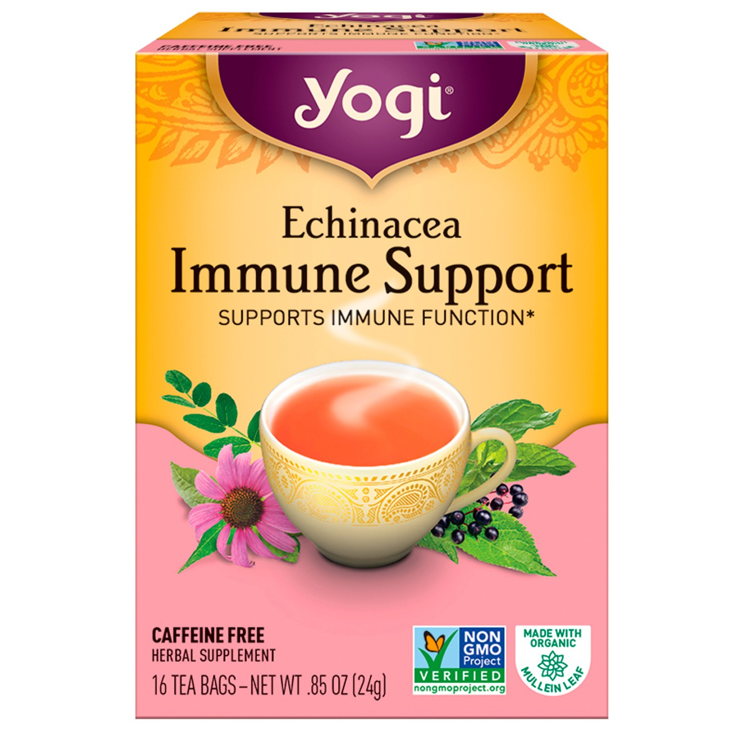 Yogi Echinacea Immune Support Tea