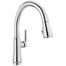 delta single handle kitchen faucets at