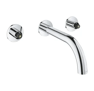 grohe wall mounted bathroom faucets