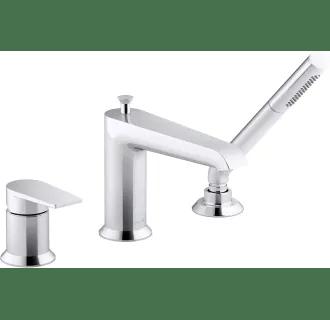 single handle roman tub faucets at