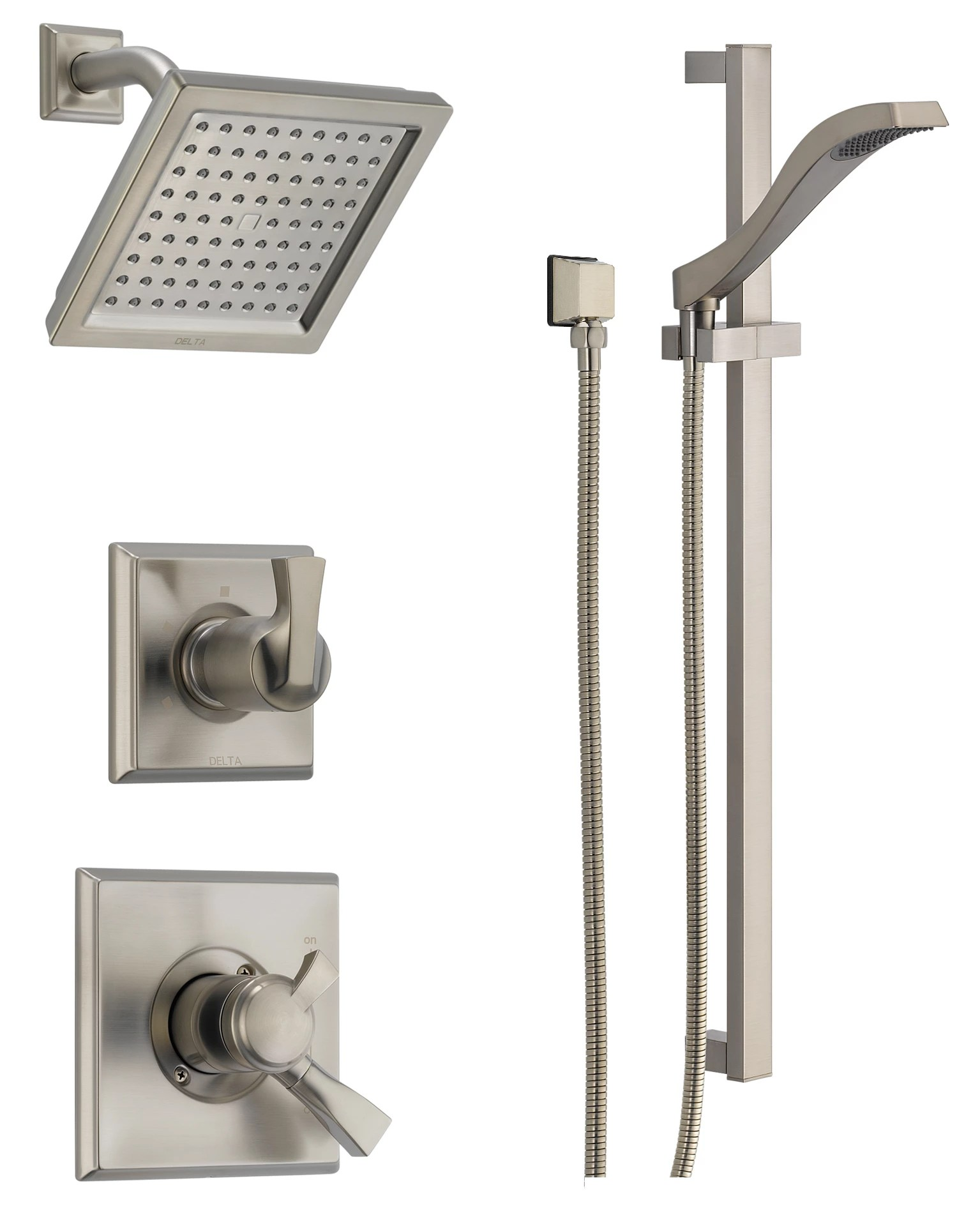Delta Dss Dryden 1701ss Brilliance Stainless Monitor 17