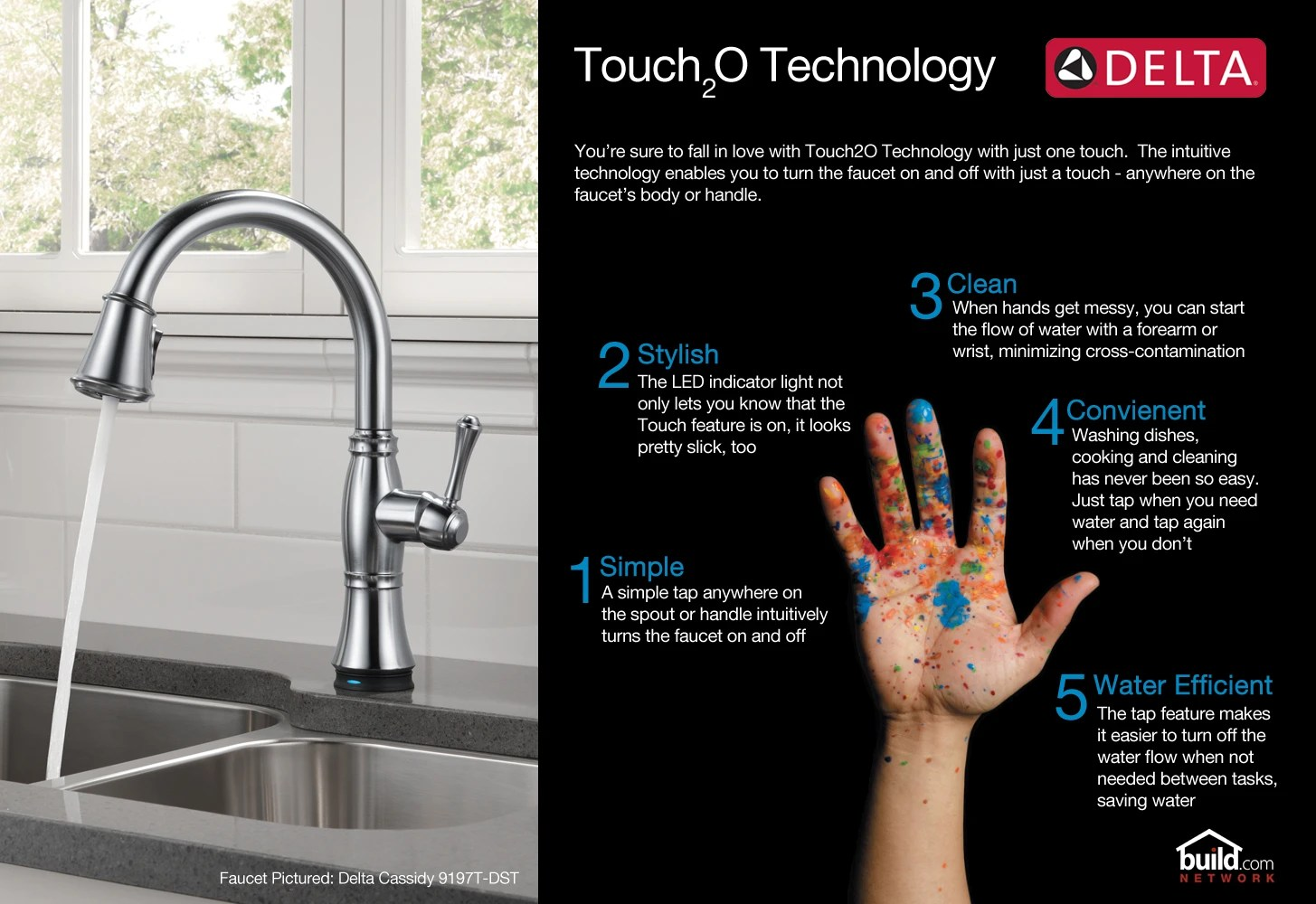 pullout spray touch kitchen faucet