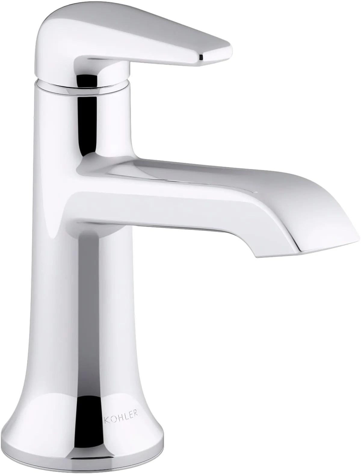 1 2 gpm single hole bathroom faucet