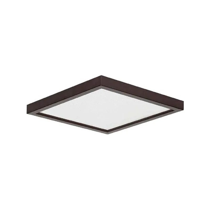 canarm canarm led sm8dl c light 8 wide integrated led indoor outdoor flush mount ceiling fixture oil rubbed bronze outdoor lighting ceiling