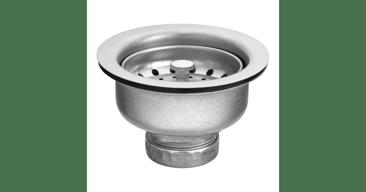 moen 22037 stainless steel 3 1 2 basket build com