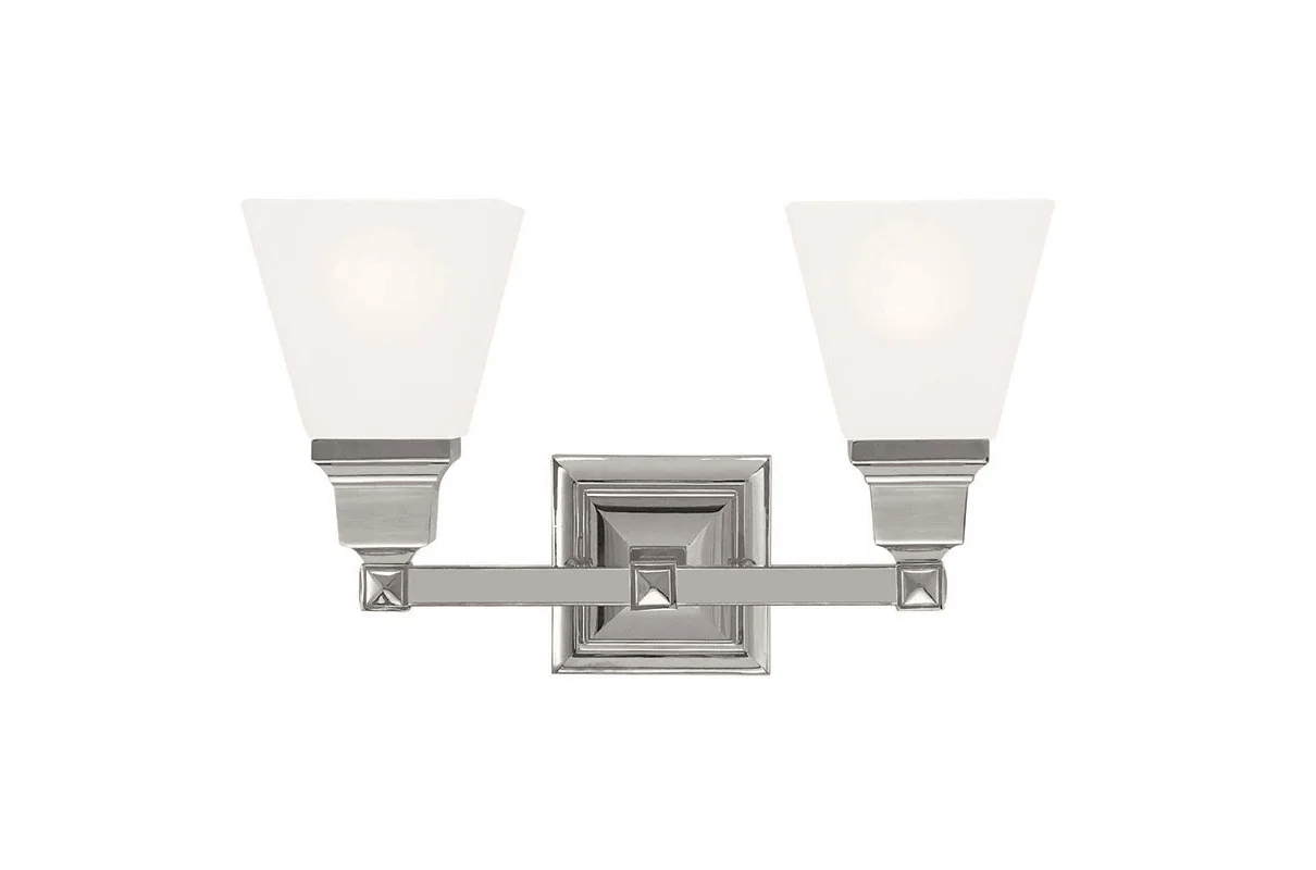 Livex Lighting 35 Polished Nickel Mission 2 Light