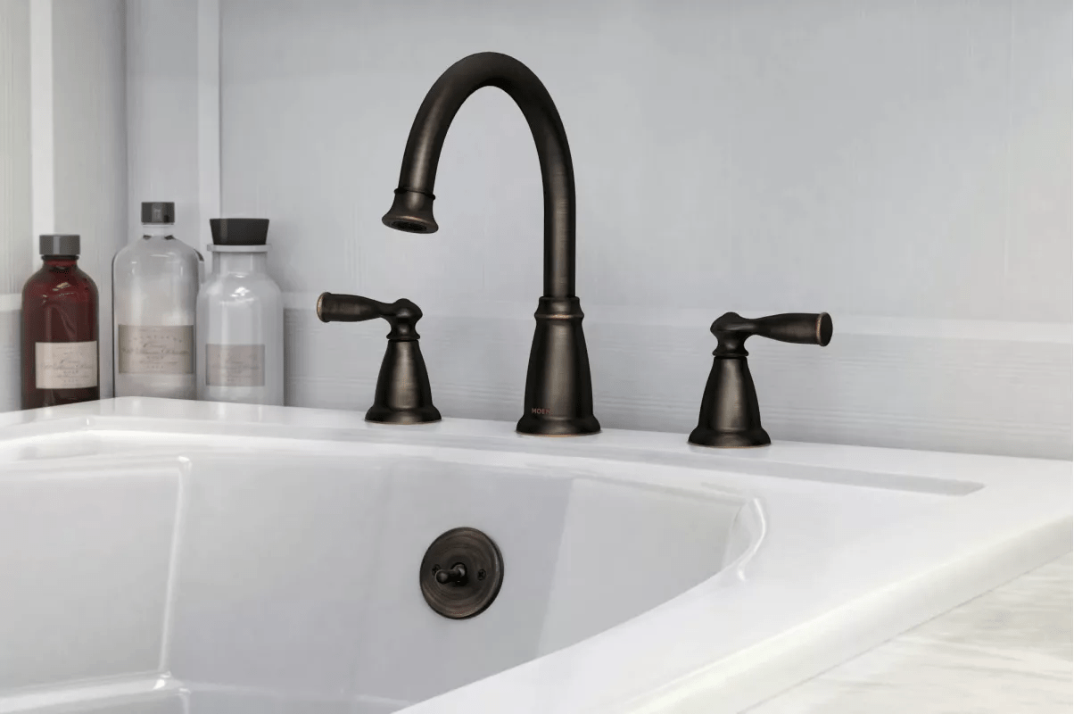 86924BRB In Mediterranean Bronze By Moen