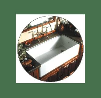 Rohl RC3618PCT Parchment Shaws Original 36 Single Basin