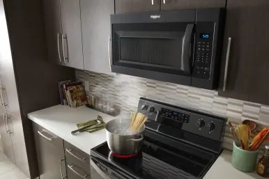 how to install an over the range microwave