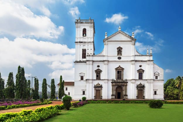 Image result for cathedral church goa