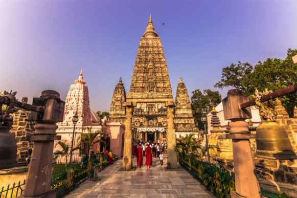 Image result for bodhgaya temple beautiful places in Bihar