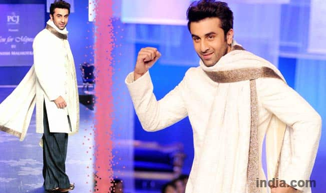 Image result for ranbir kapoor in traditional dress