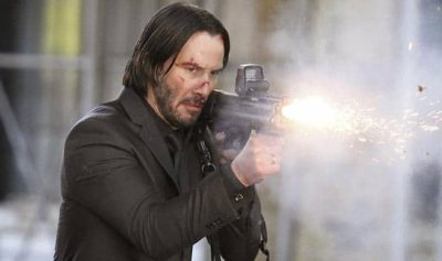 Keanu Reeves kicked serious butt in action hit John Wick
