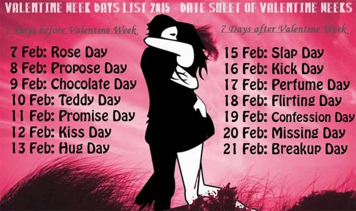 Anti Valentines Day 2015 Dates For Slap Day Kick Day