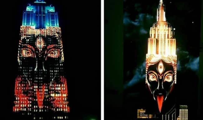 Why did Goddess Kaali light up New York's Empire State Building? (Video)